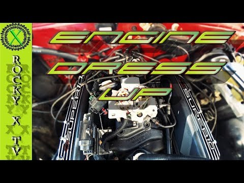 TBI Engine Dress-Up, Valve Covers, Air Cleaner & New Throttle Body! Project SUPER 10 Ep.07