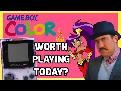 Gameboy Color - Is It Worth Playing Today? - History, Review and Retrospective - Top Hat Gaming Man