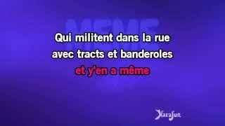 Karaoké Mademoiselle chante le blues - Patricia Kaas *