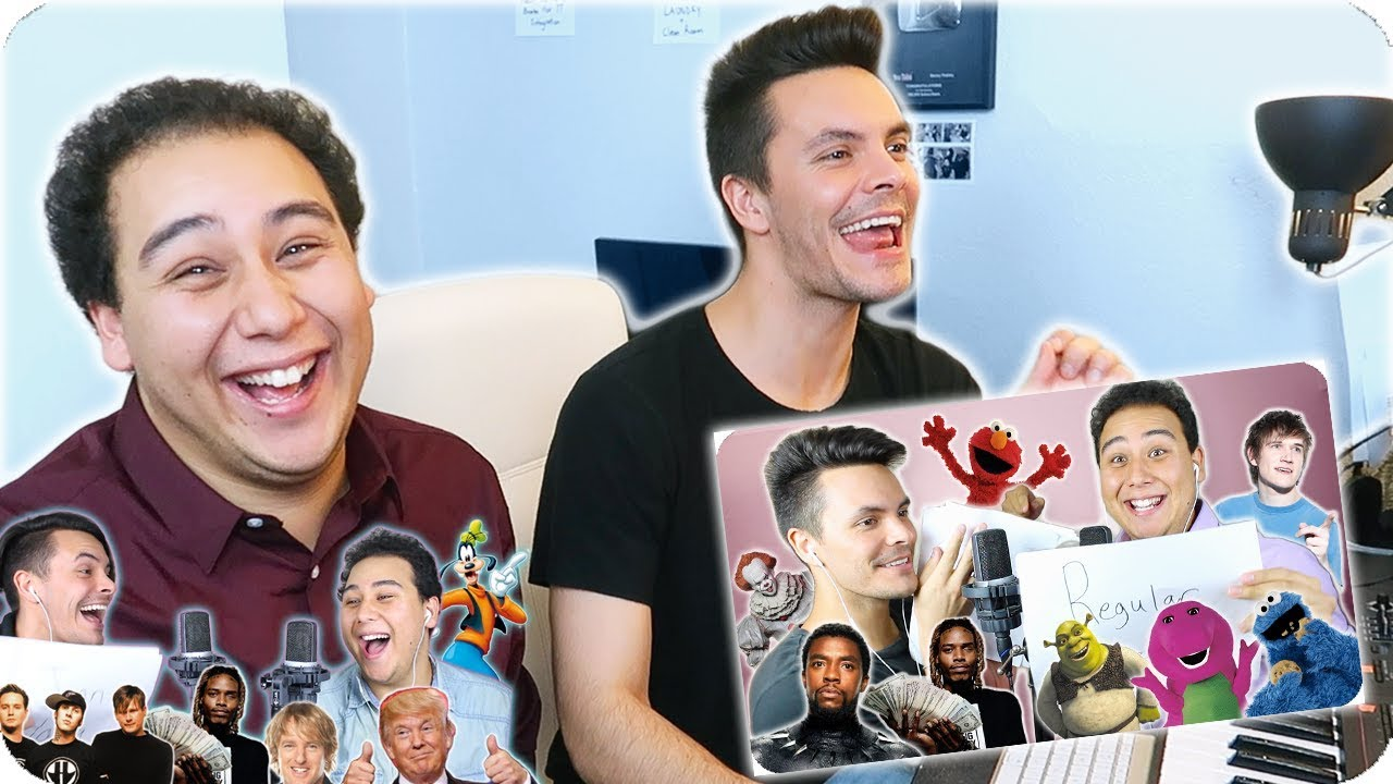 Reacting To Our Impersonation Covers Again Part 2