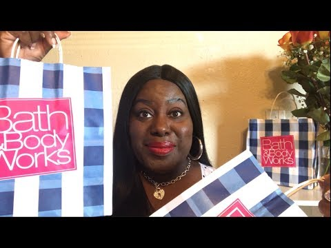 EPIC BATH & BODY WORKS FALL 2018 HAUL  ICONIC COLLAB W MIKAYLA AND TINA MARIE💖💖💖