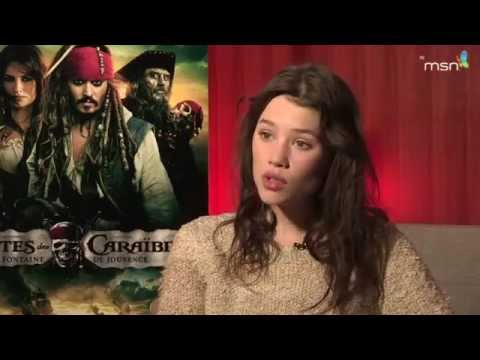 Pirates des Caraïbes, la Fontaine de Jouvence : Astrid Berges-Fribey, sirène française
