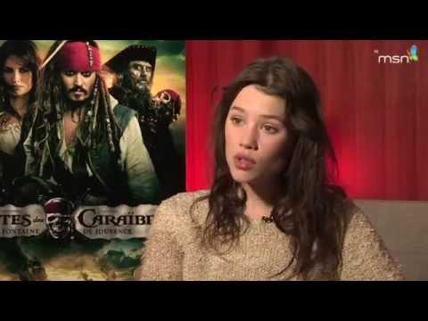 Pirates des Caraïbes, la Fontaine de Jouvence : Astrid Berges-Fribey, sirène française poster