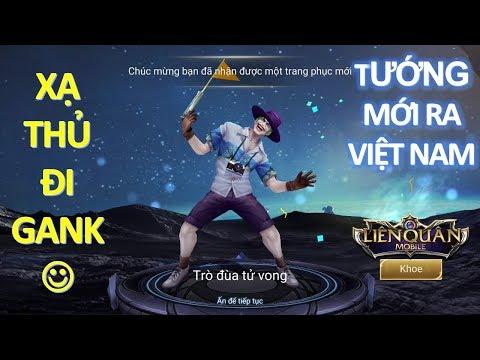 Tướng mới ra mắt ở Việt Nam JOKER Trò đùa tử vong - Xạ thủ đi gank siêu bá [Mua và test luôn]