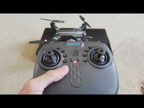 In-Depth Full Review 8807HD Foldable Flying Quad Drone + Instruction & WiFi App! 12 8 2017