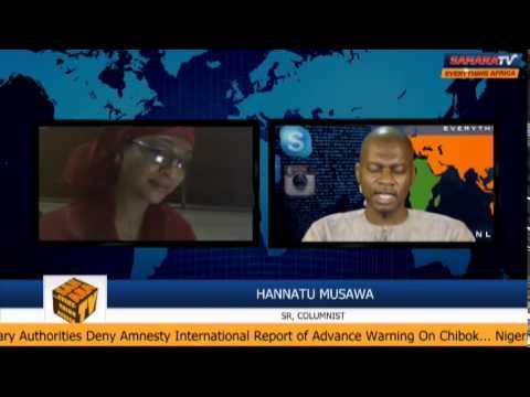 Download SaharaTV TalkBack: Hannatu Musawa Reacts To #BringBackOurGirls