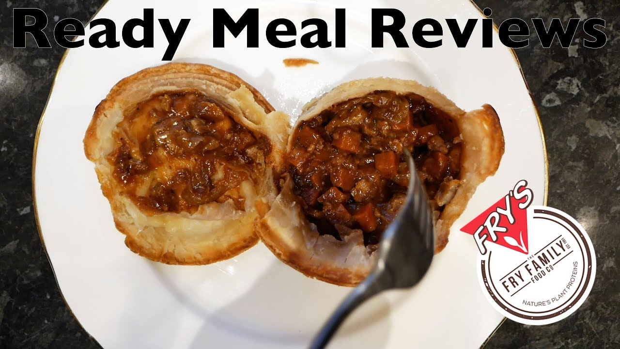 Fry's Vegan Steak and Ale Style Pie - Ready Meal Reviews ...