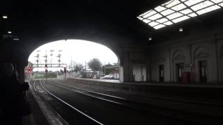 6 Car V/Line VLocity 59 And 11 At Ballarat Station Platform 1 Part 2