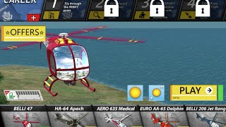 Helicopter Flight Simulator Game 2016 - Android and iOS - Trailler 2
