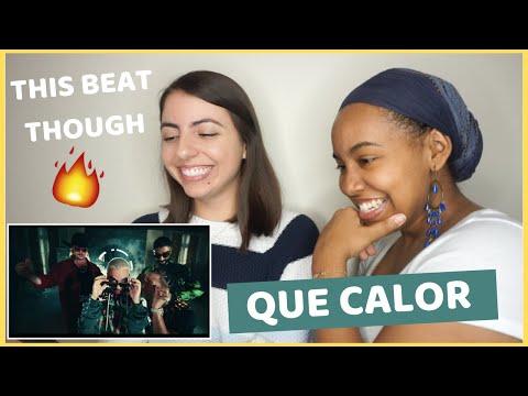 Major Lazer - Que Calor (feat. J.Balvin & El Alfa) (Official Music Video) [REACTION]