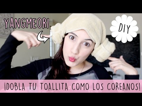 Tutorial: Yangmeori (양머리) Korean Sauna Towel Bun | Let's talk about k-dramas