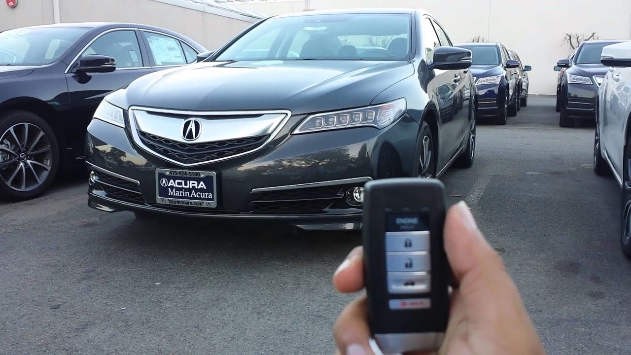 How To Use Remote Engine Start On Acura TLX YouTube - Acura rdx remote start