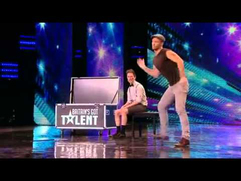 Britains Got Talent 2012  James Ingham and Ed Gleave audition