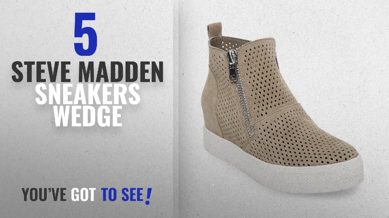 21dc19bbdc3 Top 5 Steve Madden Sneakers Wedge  2018   Steve Madden Women s ...