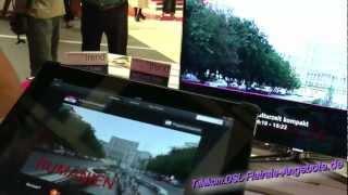 Entertain to go - Vorstellung auf Telekom Stand IFA 2012 - Entertain wird mobil für unterwegs