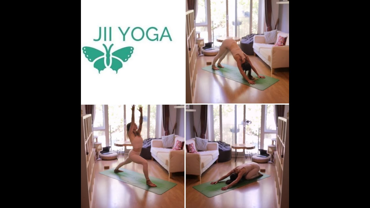 20 Minute Practice – Find Your Feet Yoga – Jii Yoga