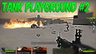 TRAPPED - TANK PLAYGROUND #2 Left 4 Dead 2