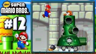 New Super Mario Bros. DS! (100%): Ep. 12 | Pipe Dreams