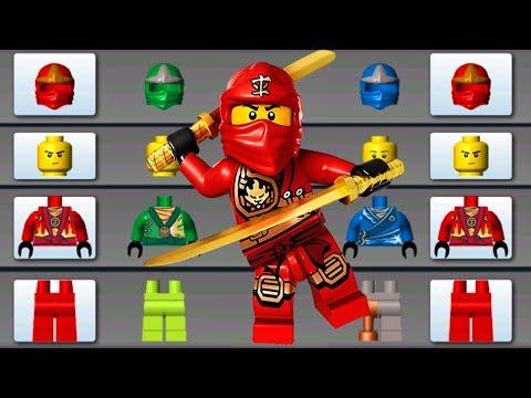 LEGO NINJAGO BUILD MONSTER TRUCK, FLYING CAR, HELICOPTER ✔ LEGO JUNIORS CREATE & CRUISE   LEGO Games