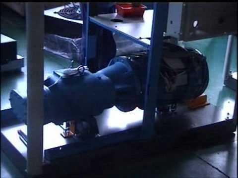 AUGUST Screw Air Compressor Top (video hand shot)