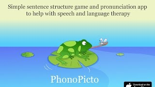 Speech therapy app for kids