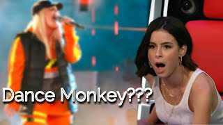 BEST DANCE MONKEY covers in The Voice | Blind Auditions | TONES AND I