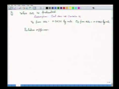 Mod-01 Lec-40 Furnace efficiency, Fuel Saving, Carbon Offset: Concepts and Exercises