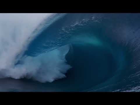Jake Dill - Surfer Trying to Paddle Over Massive Wave Gets Wrecked