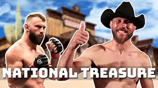 "Donald ""Cowboy"" Cerrone loves fighting.."
