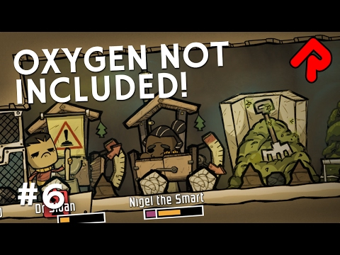 Laying Gas Pipes for Hydrogen Power | Let's play Oxygen Not Included gameplay ep 6 (alpha)