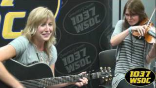 "103.7 WSOC: Joanna Smith sings ""Poor Little Heart"""
