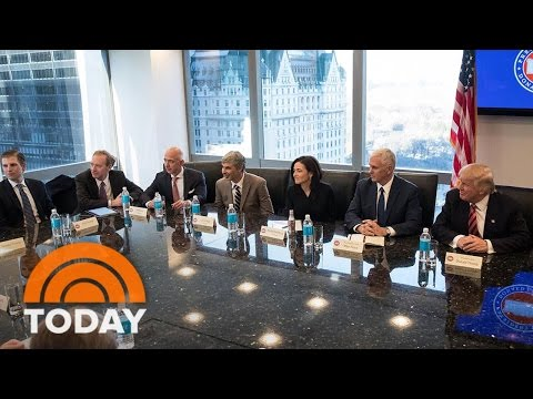 Donald Trump's Children Join Meeting With Tech Giants, Raising Conflict Questions | TODAY