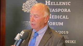 Ανδρέας Τζάκης / Καθηγητής Χειρουργικής, Cleveland Clinic, ΗΠΑ Hellenic Diaspora Medical Forum