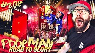 I PACK RED TOTS 98 HAZARD!!! INSANE REWARDS! BEST LUCK! - POOR MAN RTG #208 - FIFA 19 Ultimate Team