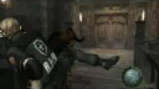 Resident Evil 4 (PC) - Zombie Brawl - Leon Castle