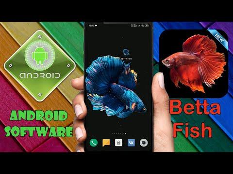 Топ живые обои в стиле Black Version на Android \ Живая рыба у вас в телефоне