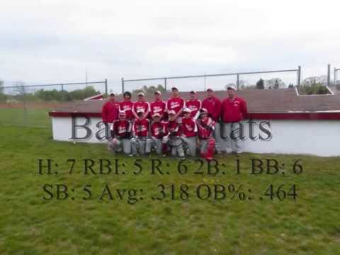 Benzie Central Middle School Baseball Team White 2013