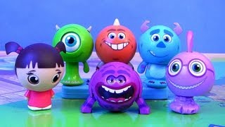 Disney Roll a Scare Monsters University Surprise Pop-up Toys
