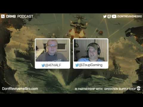 DRMB Podcast with @47HALF WoWS Community Assistant Developer