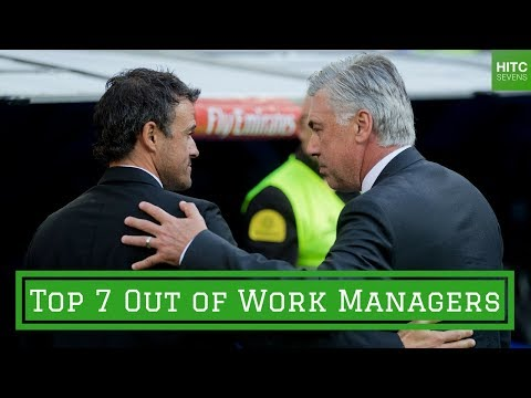 7 Best Out of Work Football Managers