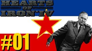 Hearts Of Iron IV: Ashes Of The Past Mod - Yugoslavia | For An Alpha This Is Exciting! | Part 1