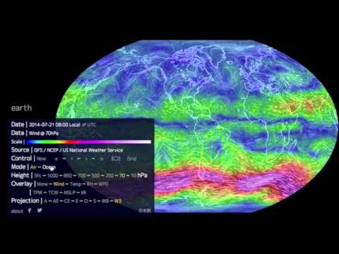 How To Use The Earth Wind Map