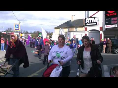 Tullow,County Carlow, St Patrick's Day Parade, 2011.