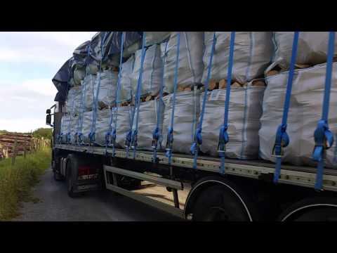Cotter Bros Firewood - 76 Bulk Bag Load to Fuel Merchant