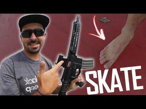 Airsoft Game of Skate! LB Skate