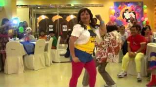 JKM Couples' Showdown on 80's theme