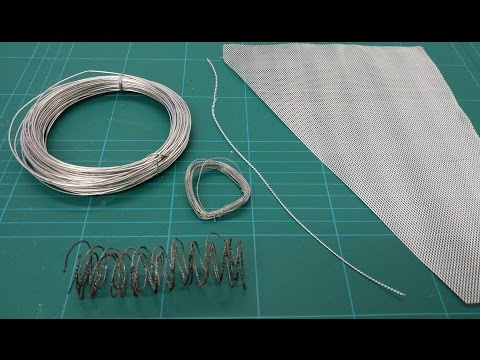 Let's Make - Cheap & Easy Barbed Wire (Battlefield Basics Series)