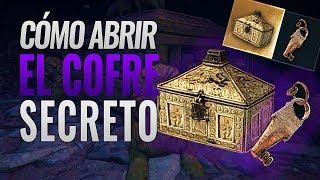 Assassin's Creed Odyssey | COMO ABRIR EL COFRE SECRETO del palacio Minoico Sumergido con la LLAVE