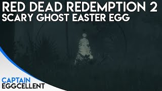 Red Dead Redemption 2 - SCARY Ghost Easter Egg
