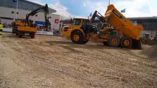Heavy Machines in action - BAUMA 2013